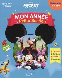 Mickey et ses amis : mon année de petite section : maternelle, 3-4 ans