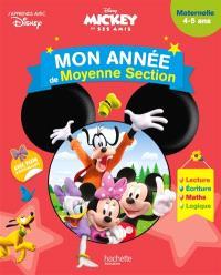 Mickey et ses amis : mon année de moyenne section : maternelle, 4-5 ans
