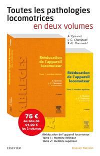 Rééducation de l'appareil locomoteur : deux volumes