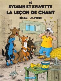 Sylvain et Sylvette. Volume 63, La leçon de chant