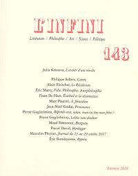Infini (L'). n° 143