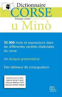 U mino : dictionnaire corse : français-corse, corsu-francese