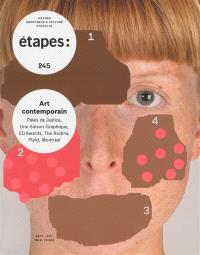 Etapes : design graphique & culture visuelle. n° 245, Art contemporain