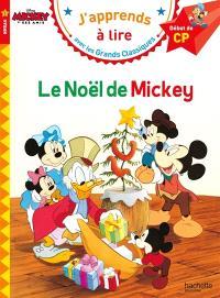 Le Noël de Mickey : niveau 1, début de CP