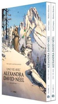 Une vie avec Alexandra David-Néel : coffret tomes 1 & 2