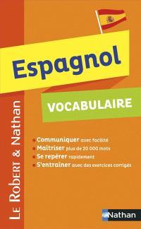 Espagnol : vocabulaire