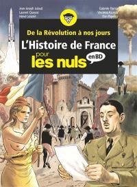 L'histoire de France pour les nuls en BD : intégrale. Volume 3, De la Révolution à nos jours