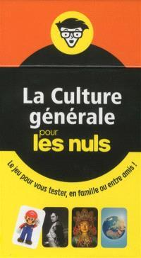 La culture générale pour les nuls : le jeu pour vous tester, en famille ou entre amis !