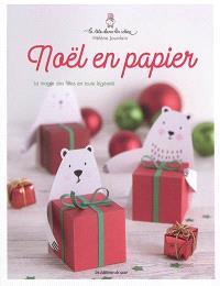 Noël en papier : la magie des fêtes en toute légèreté