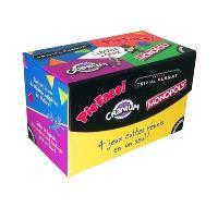 La boîte à quiz : Trivial Pursuit, Pie Face, Cranium, Monopoly