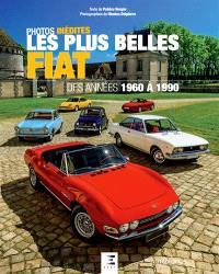 Les plus belles Fiat des années 1960 à 1990 : photos inédites