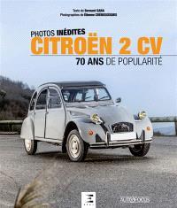 Citroën 2 CV : 70 ans de popularité : photos inédites