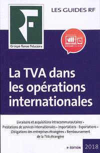 La TVA dans les opérations internationales