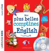 Mes plus belles comptines in English : pour s'initier à l'anglais