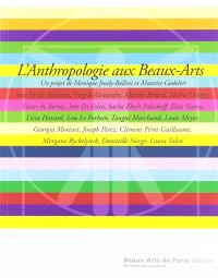 L'anthropologie aux Beaux-Arts
