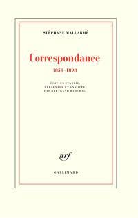 Correspondance : 1854-1898