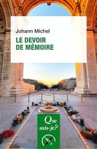 Le devoir de mémoire