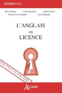 L'anglais en licence : tout en un volume