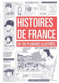 Histoires de France : en 100 planches illustrées