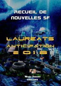 Recueil de nouvelles SF, Lauréats anticipation 2018