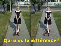 Qui a vu la différence ?