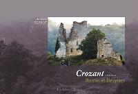 Crozant en Creuse : ruines et bruyères