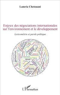politique internationale de lenvironnement