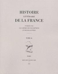 Histoire littéraire de la France. Volume 46, Jacques Cujas (1522-1590)