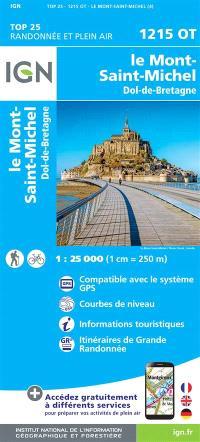 1215OT LE MONT SAINT MICHEL DOL DE BRETAGNE / RECTO