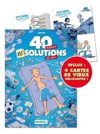 40 bonnes résolutions de mec