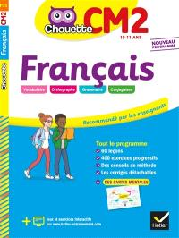 Français CM2, 10-11 ans : nouveau programme