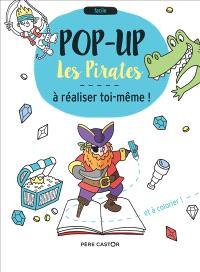 Les pirates : pop-up à réaliser toi-même et à colorier !