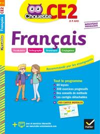 Français CE2, 8-9 ans : nouveau programme