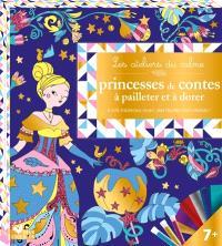 Princesses de contes à pailleter et à dorer : 6 jolis tableaux à décorer !