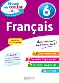 Français 6e : nouveau programme