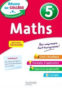 Maths 5e : nouveau programme
