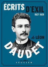 Ecrits d'exil : 1927-1928
