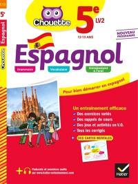 Espagnol 5e LV2, 12-13 ans : nouveau programme