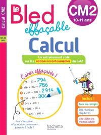 Le Bled effaçable, calcul, CM2, 10-11 ans