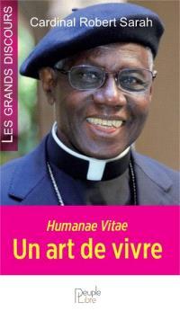 Humanae vitae : un art de vivre