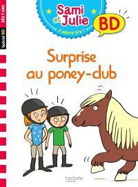 Surprise au poney club