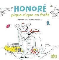 Honoré pique-nique en forêt