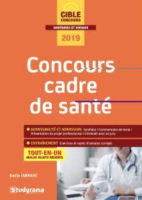 Concours cadre de santé : tout-en-un, inclus sujets récents, 2019