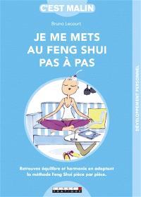 Le feng shui pas à pas : retrouvez équilibre et harmonie en adoptant la méthode feng shui pièce par pièce