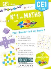 N°1 en maths avec Mathador CE1, 7-8 ans