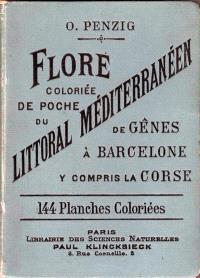 Flore coloriée de poche du littoral méditerranéen : de Gênes à Barcelone, y compris la Corse