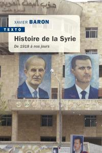 Histoire de la Syrie : de 1918 à nos jours
