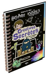 Créatures secrètes : mon livre magique à gratter