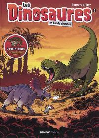 Les dinosaures en bande dessinée. Volume 5