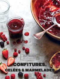 Confitures, gelées & marmelades
